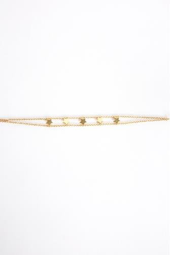 5 Star Symbol Empowered Bracelet GOLD