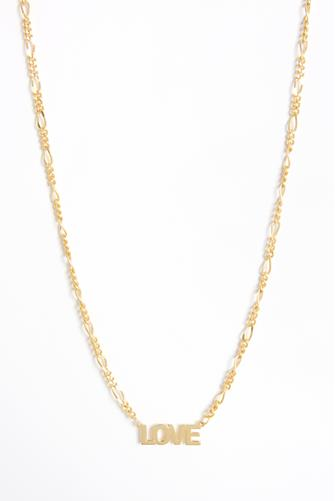 Figaro Love Necklace GOLD