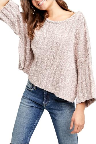 Good Day Pullover MAUVE