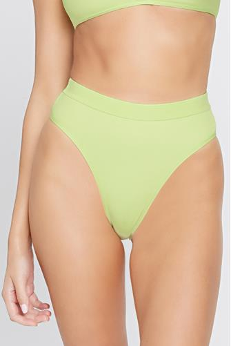 Ribbed Frenchi Mojito Bikini Bottom LIME