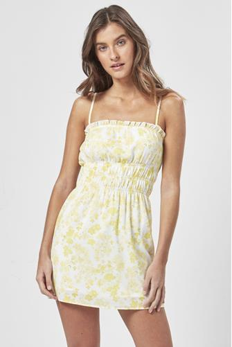 Stella Daisy Mini Dress YELLOW-MULTI--