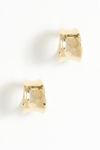 Mini Gold Huggie Earrings GOLD