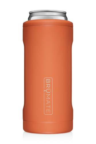 Matte Clay Hopsulator Slim Can Cooler PEACH