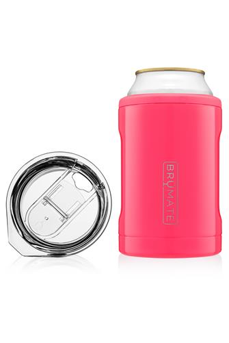 Neon Pink Hopsulator Duo Can Cooler NEON-PINK--