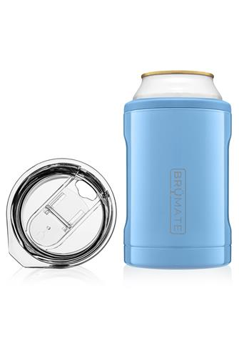 Denim Hopsulator Duo Can Cooler BLUE