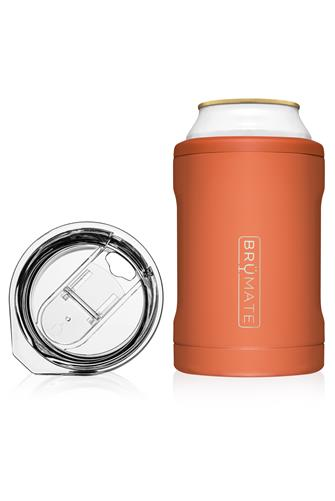 Matte Clay Hopsulator Duo Can Cooler PEACH
