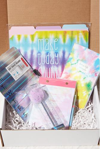 Tie Dye Work From Home Box MULTI