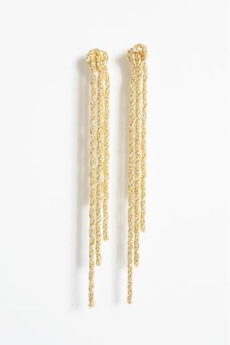 Fiore Knot Earrings GOLD