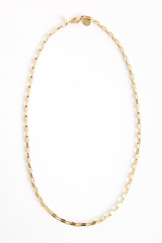 Nasya Chain Choker Necklace GOLD