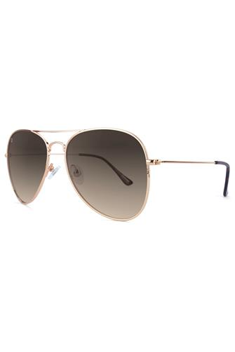 Mile Highs Vintage Velour Polarized Sunglasses GOLD