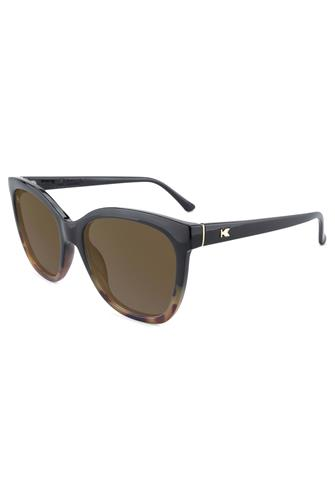 Deja Views Glossy Black & Blonde Tortoise Polarized Sunglasses TORTOISE