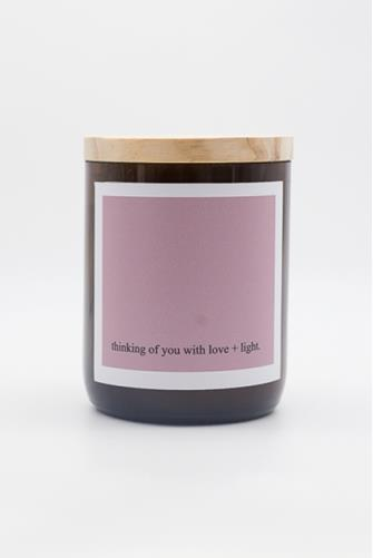 Thinking Of You Heartfelt Quote Byron Bay Candle 8.8 oz. PURPLE