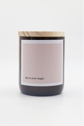 Stay In Your Magic Heartfelt Quote Byron Bay Candle 8.8 oz. LILAC