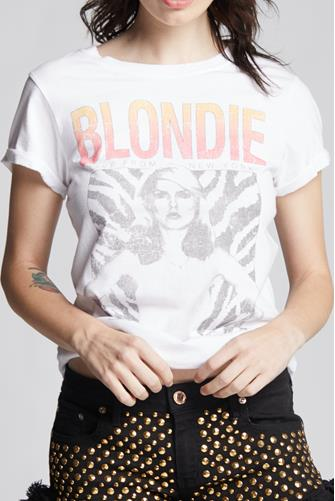 Blondie Live From NY Graphic Tee WHITE