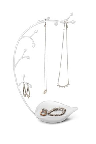 Orchid Jewelry Tree WHITE