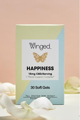 Happiness CBD Soft Gels YELLOW MULTI -