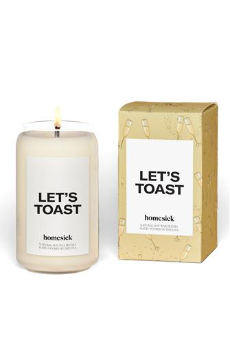 Let's Toast Candle 13.75 oz. TAN