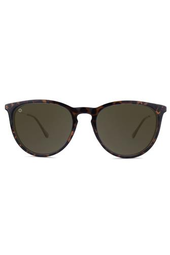 Glossy Tortoise Shell & Amber Sunglasses TORTOISE