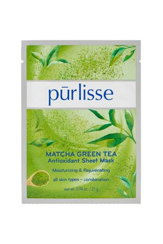 Matcha Green Tea Antioxidant Sheet Mask GREEN
