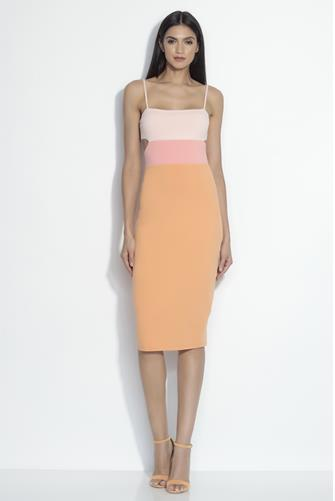 Color Block Dress MULTI