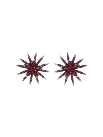 Pavé Point Stud Earrings