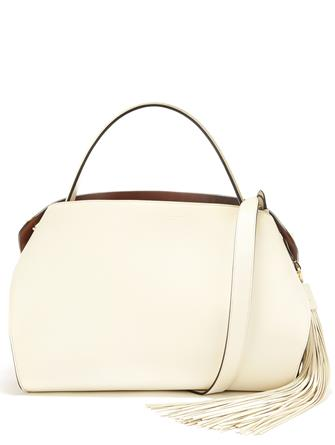 Ivory Leather Nolo Bag