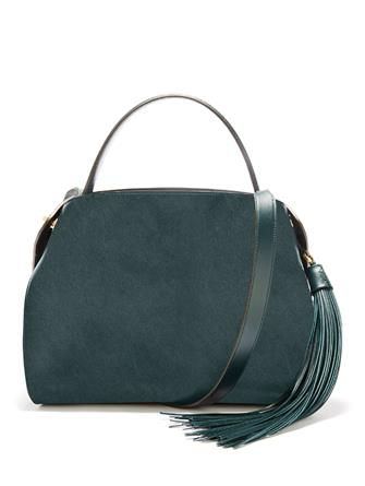 Spruce Leather Nolo Bag