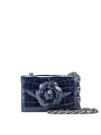 Navy Alligator TRO Bag