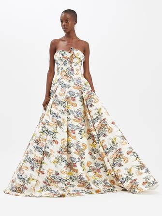 Fil Coupé Gown