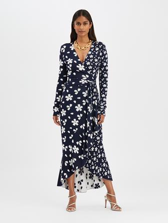 Flower Wrap Dress
