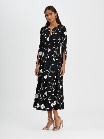 Floral Silhouette Dress