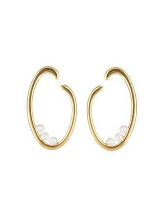 O Logo Earrings