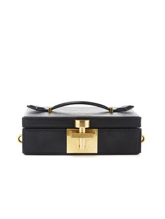 Black Alibi Clutch