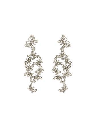 Butterfly Cluster Earrings