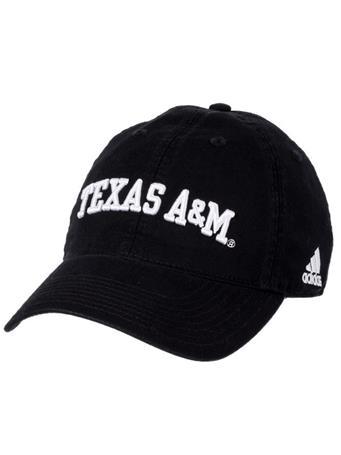 Adidas Texas A&M Adjustable Slouch Cap