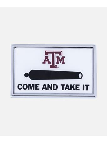 Texas A&M Come And Take It Auto Emblem