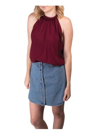 BB Dakota Women's Macyn Soft Denim Skirt