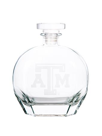 Texas A&M Campus Crystal Puccini Decanter