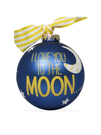 Coton Colors To The Moon Back Ornament