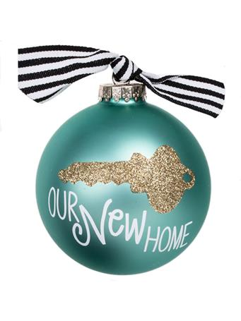 Coton Colors Our New Home Key Ornament