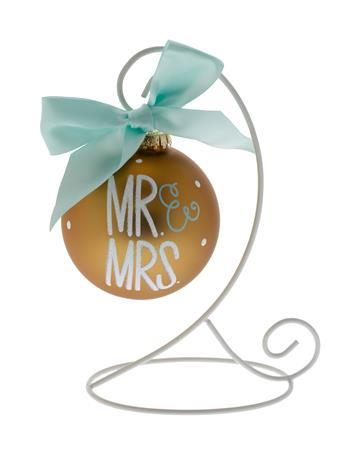 Coton Colors Mr & Mrs Ornament