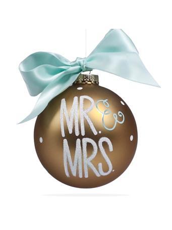 Coton Colors Mr. & Mrs. Ornament