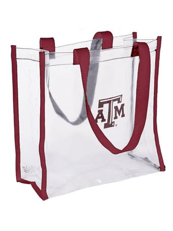 Texas A&M Clear Open Stadium Tote
