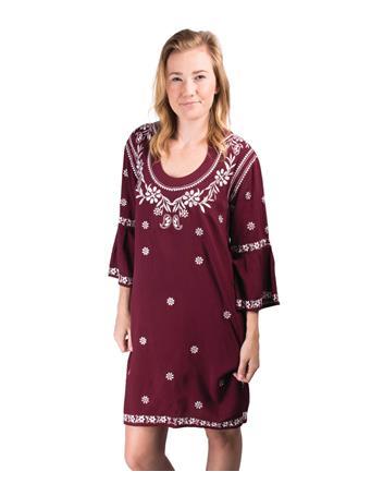 Escapada Embroidered Jillian Dress