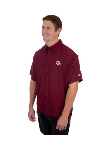 Texas A&M Drake Flyweight Short Sleeve