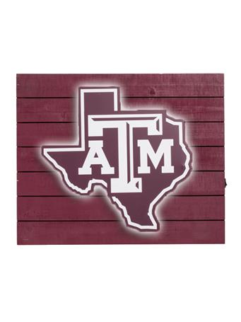 Texas A&M Lone Star Light Sign