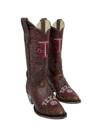 Texas A&M Women's Gameday Cowboy Boots