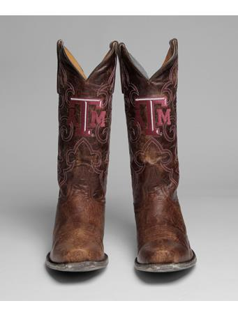 Texas A&M Aggie Mens Boardroom Boots