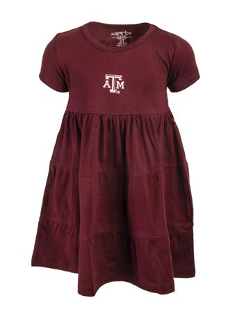 Garb Texas A&M Tod Jasmine Ruffle Dress