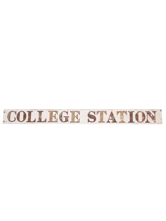 College Station Barn Sign